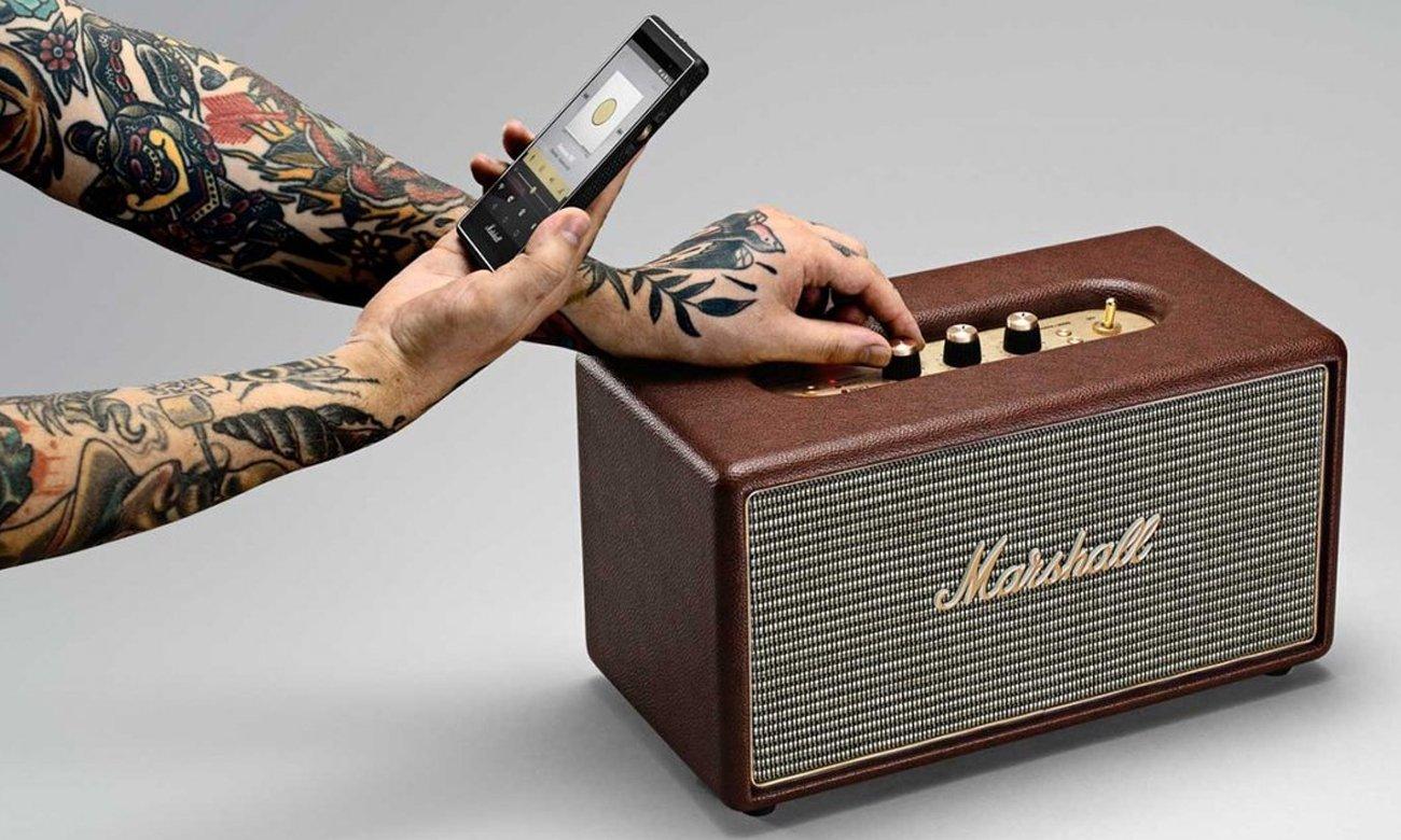 Głośnik Bluetooth Marshall STANMOREBRN brązowy
