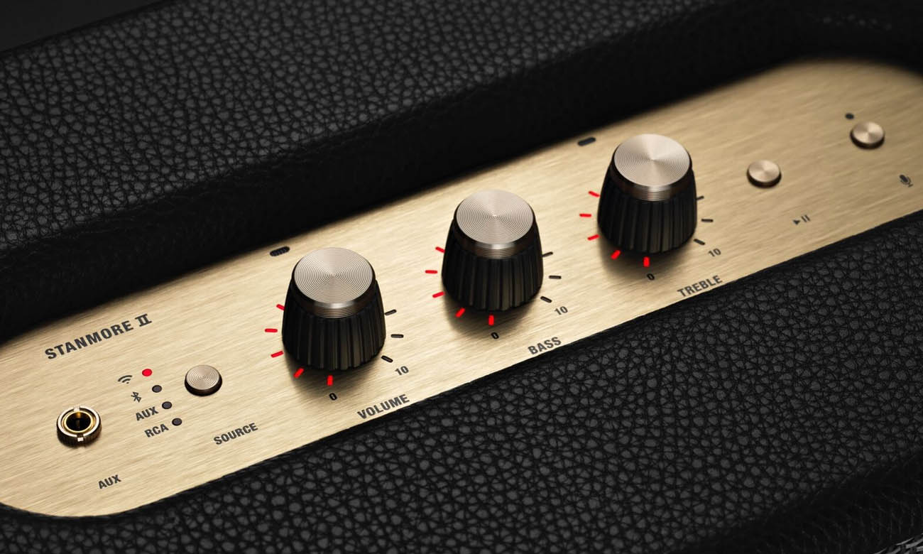 Budowa głośnika Marshall Stanmore Voice Google