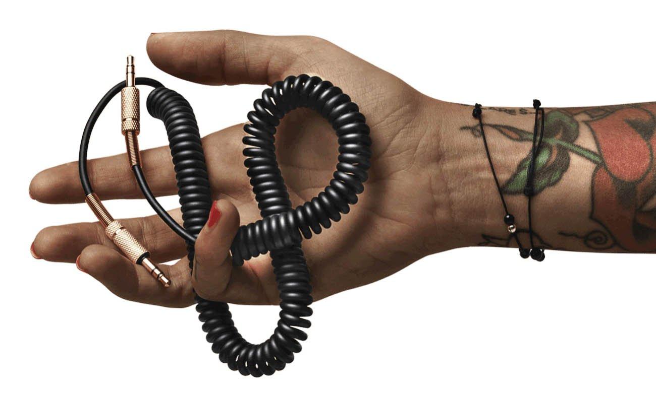 Kabel spiralny głośnik Marshall czarny