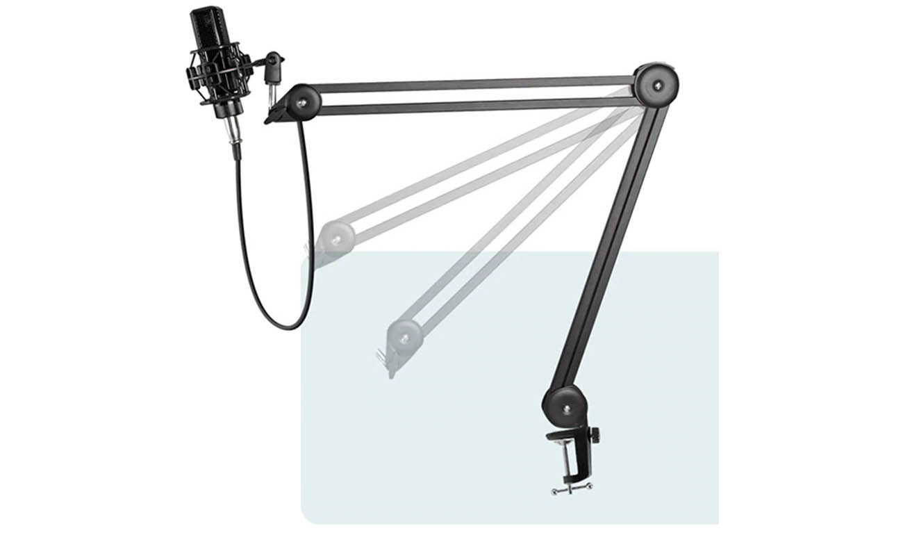 Biurkowy statyw mikrofonowy Mozos SB36