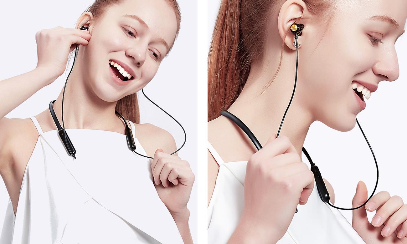 Dokanałowe słuchawki sportowe z wytrzymałą baterią Nillkin E2 Soulmate