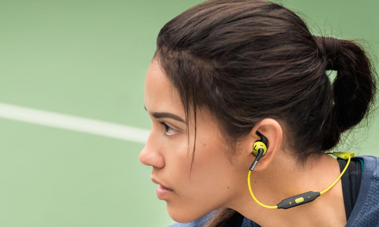WSłuchawki do biegania Philips SHQ6500CL zielone