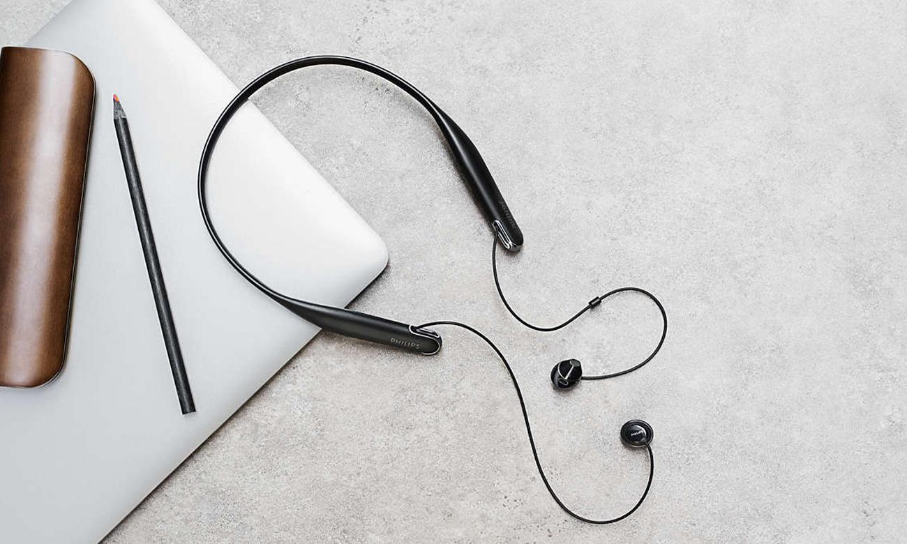 Słuchawki z pałąkiem na szyje Philips SHB4205
