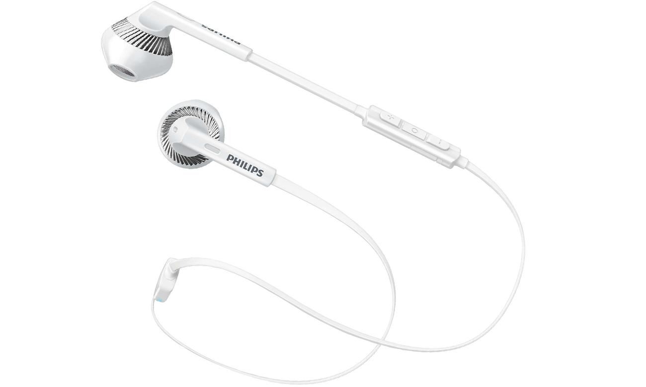 Philips SHB5250WT Białe Słuchawki bezprzewodowe Sklep komputerowy x kom.pl