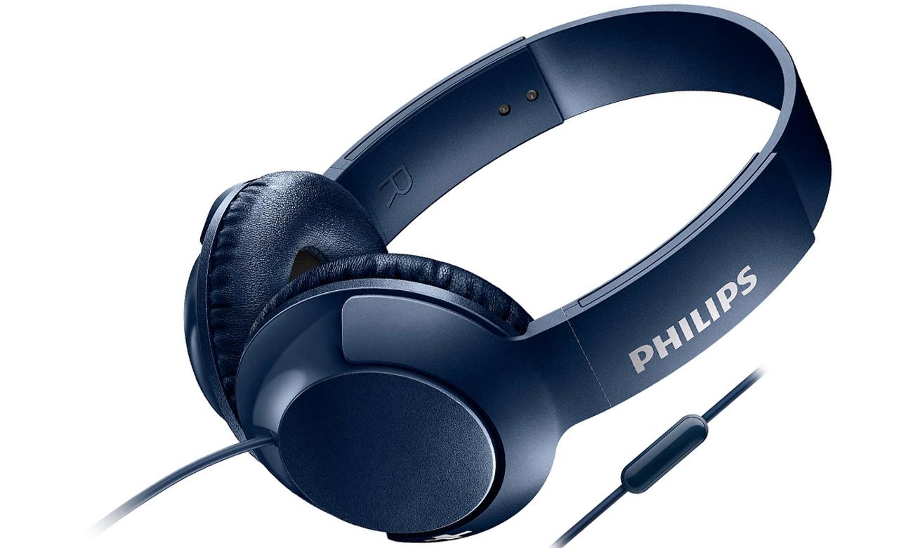 Słuchawki przewodowe Philips SHL3075BL niebieskie