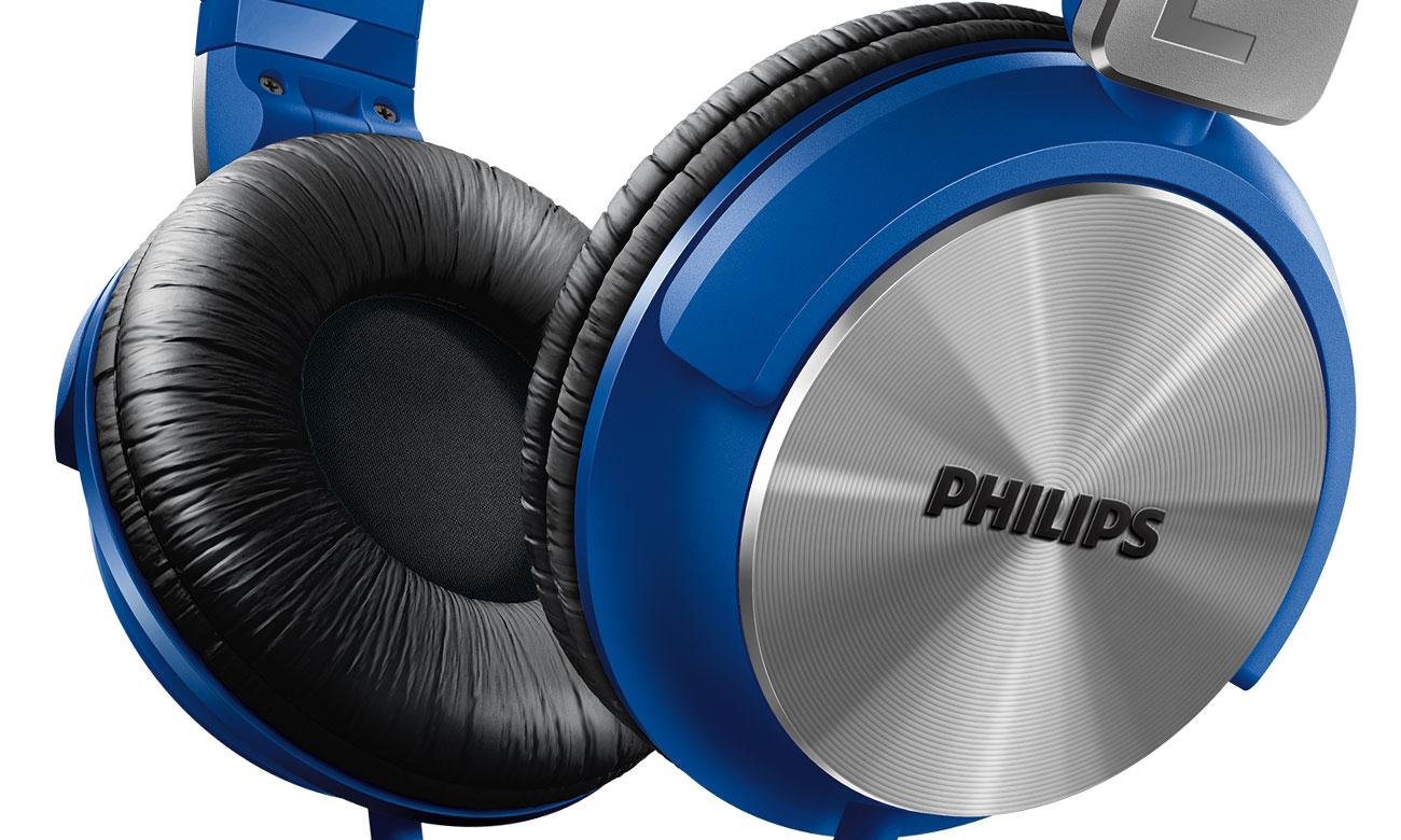 Dopasowanie słuchawek nausznych Philips SHL3165BL
