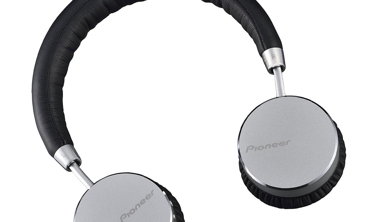 Praktyczne słuchawki nauszne SE-MJ561BT-S Pioneer