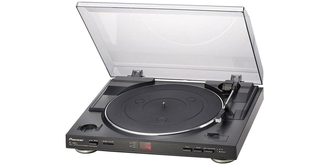gramofon Pioneer PL990 posiada wyjście Cinch
