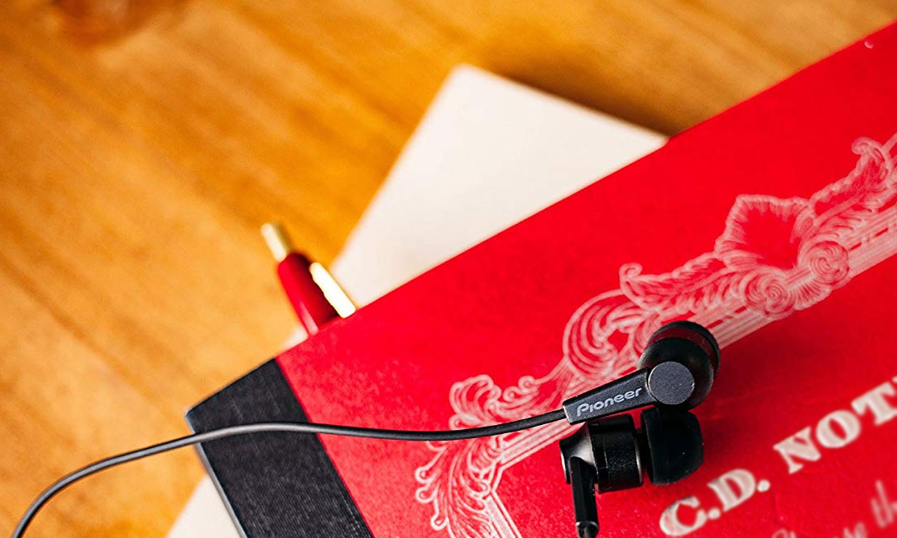 Dokanałowe słuchawki Pioneer SE-C3T + akcesoria