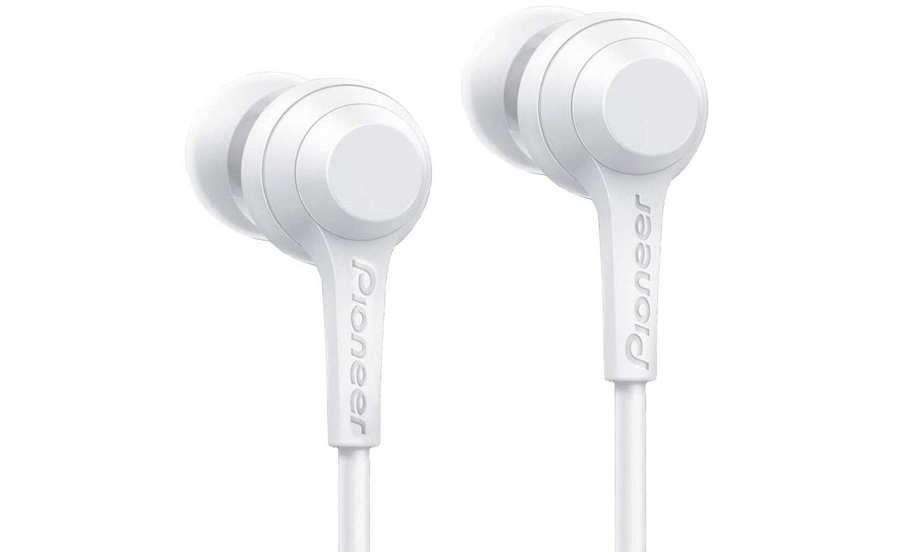 Wygodne słuchawki dokanłowe Pioneer SE-C4BT-W białe