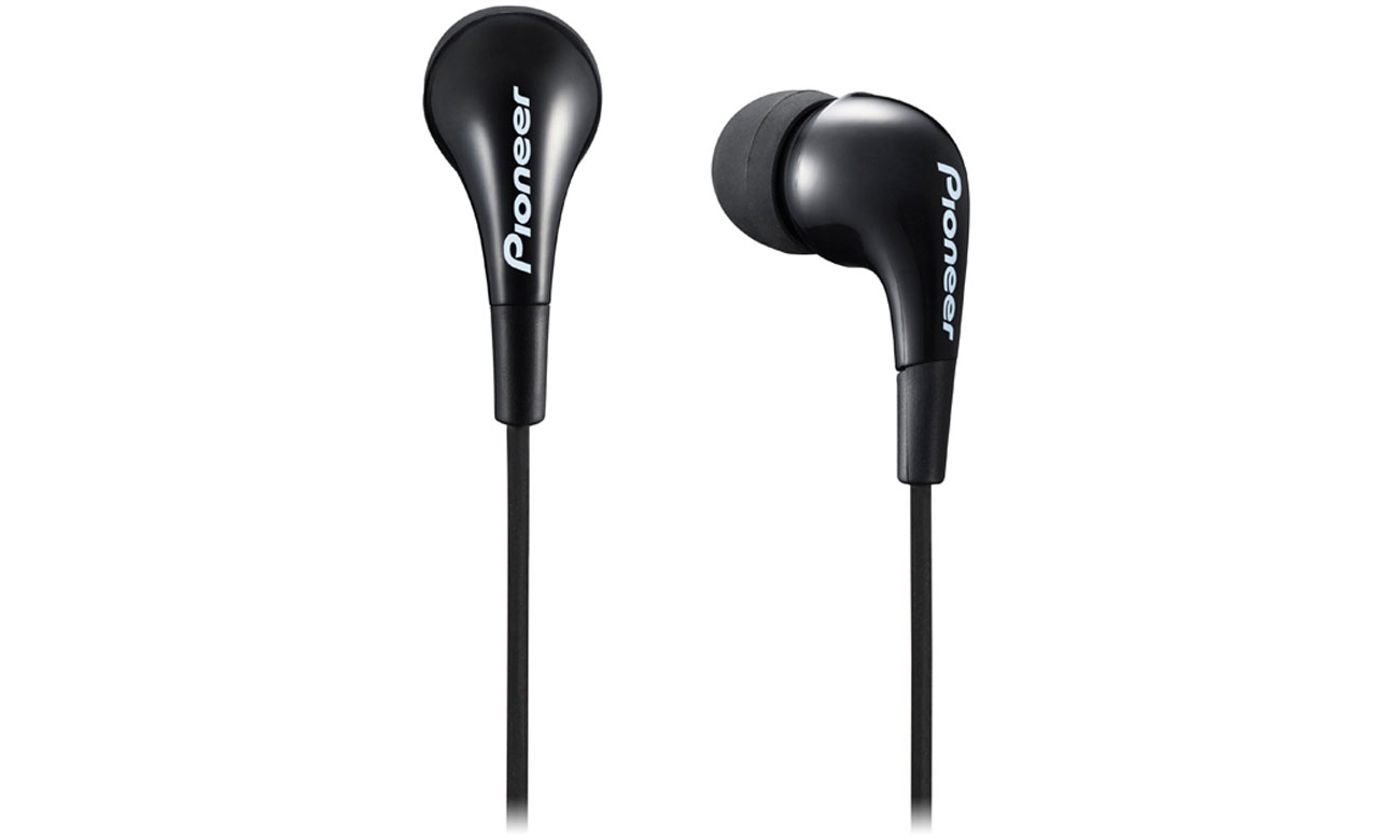 Lekkie, dokanałowe słuchawek Pioneer SE-CL502 czarne