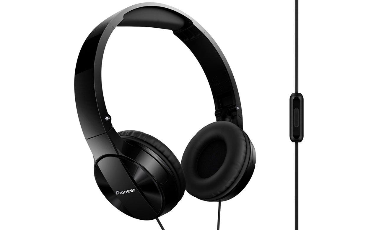 Słuchawki nauszne Pioneer SE-MJ503T-K czarne