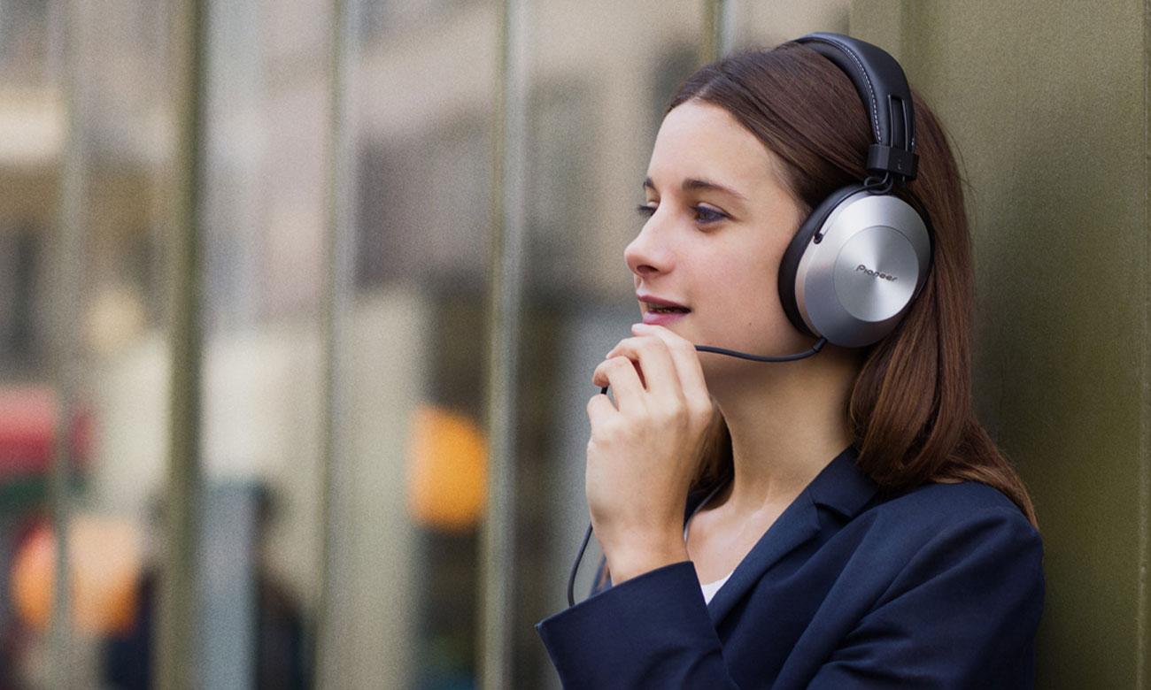 Wokółuszne słuchawki SE-MS5T-S Pioneer