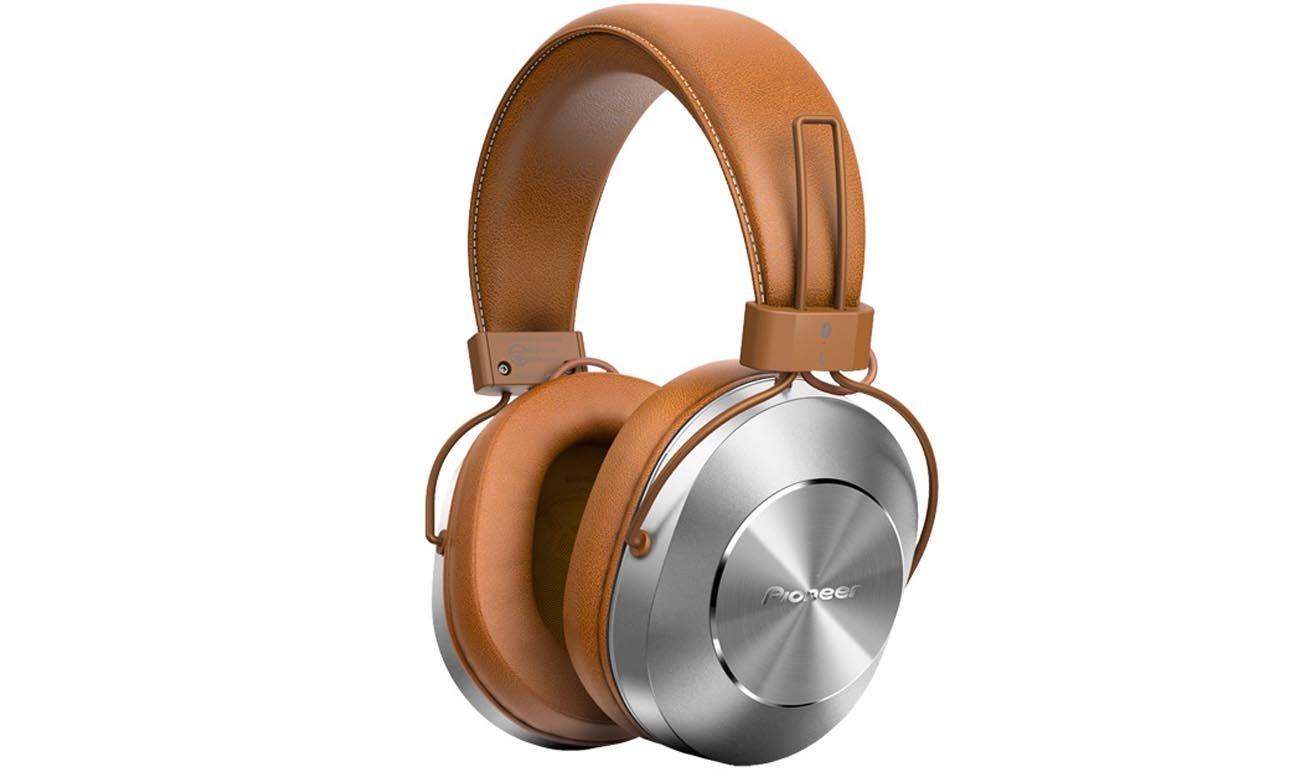 Słuchawki bezprzewodowe nauszne Pioneer SE-MS7BT Beżowe