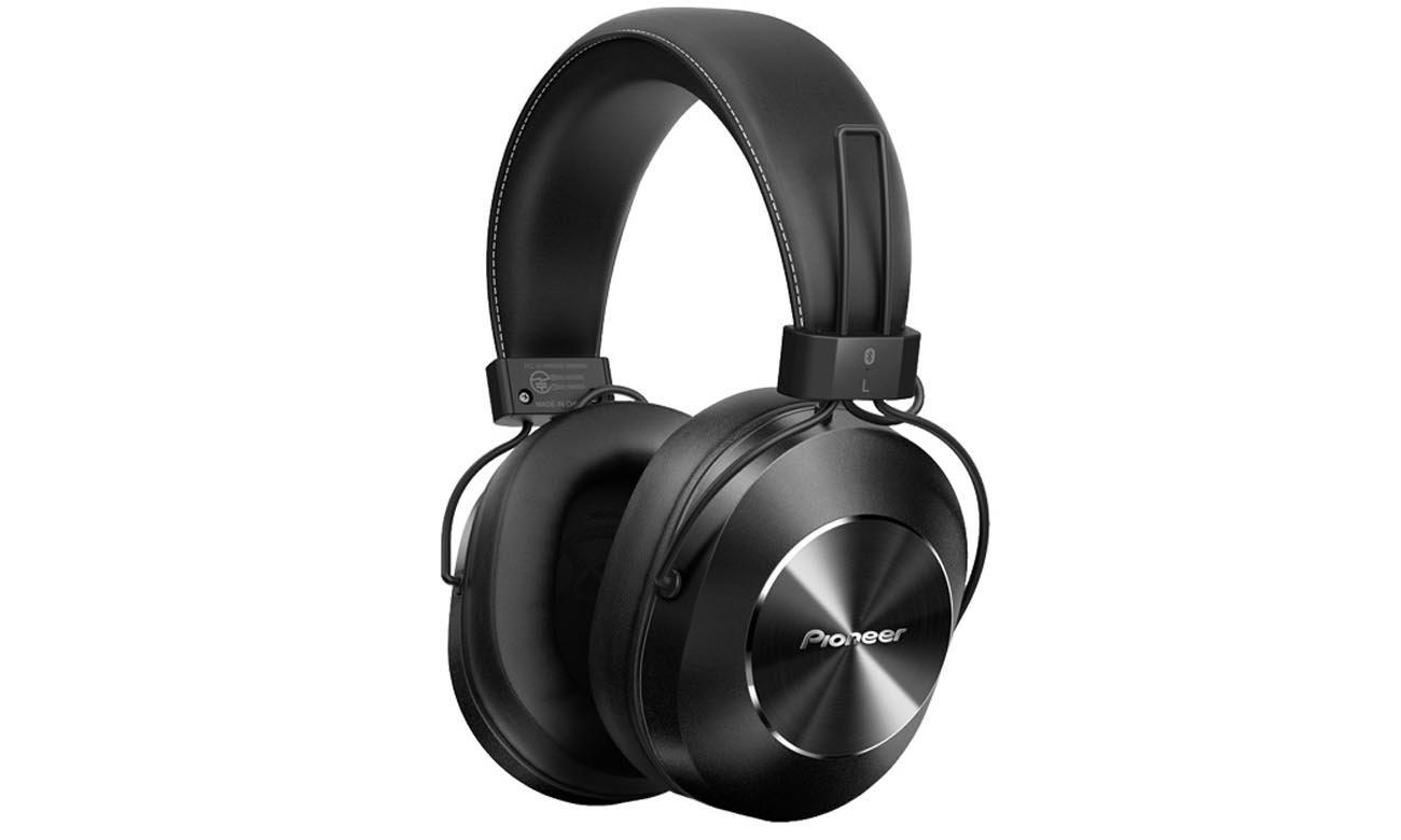 Słuchawki bezprzewodowe nauszne Pioneer SE-MS7BT Czarne