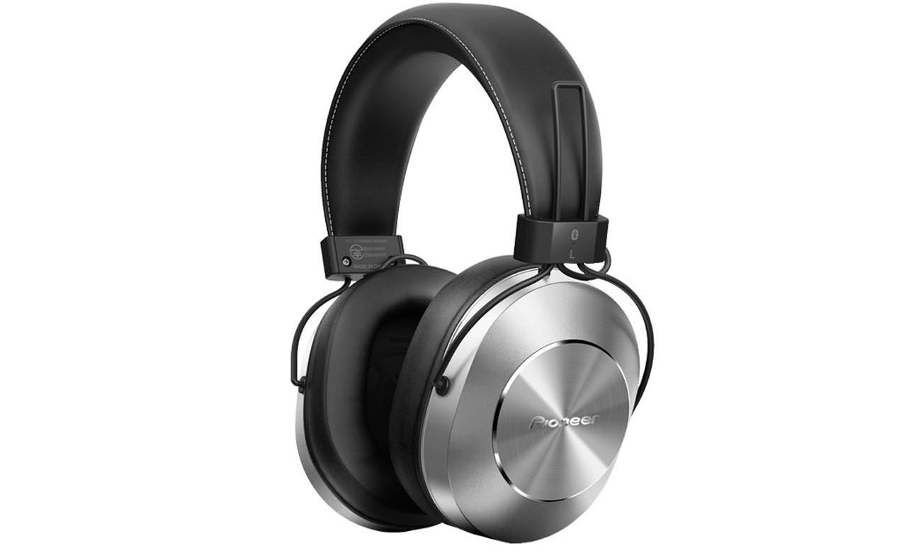 Słuchawki bezprzewodowe nauszne Pioneer SE-MS7BT Srebrne