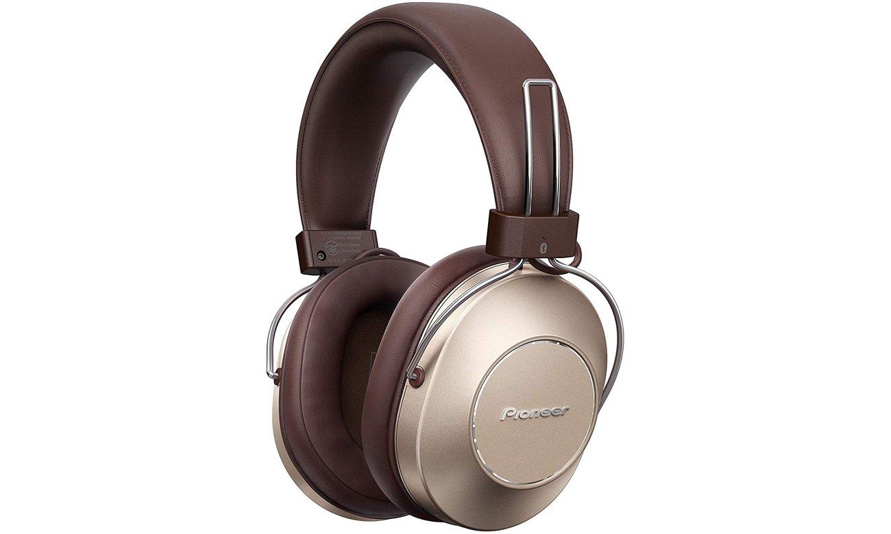 Słuchawki bezprzewodowe Pioneer SE-MS9BNG Brązowe