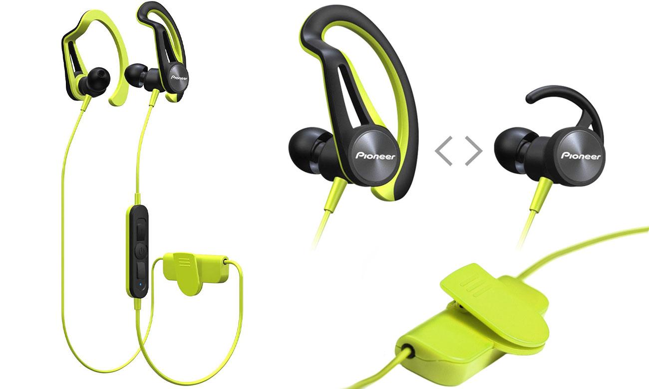 Brzmienie słuchawek bezprzewodowych Pioneer SE-E7BTY