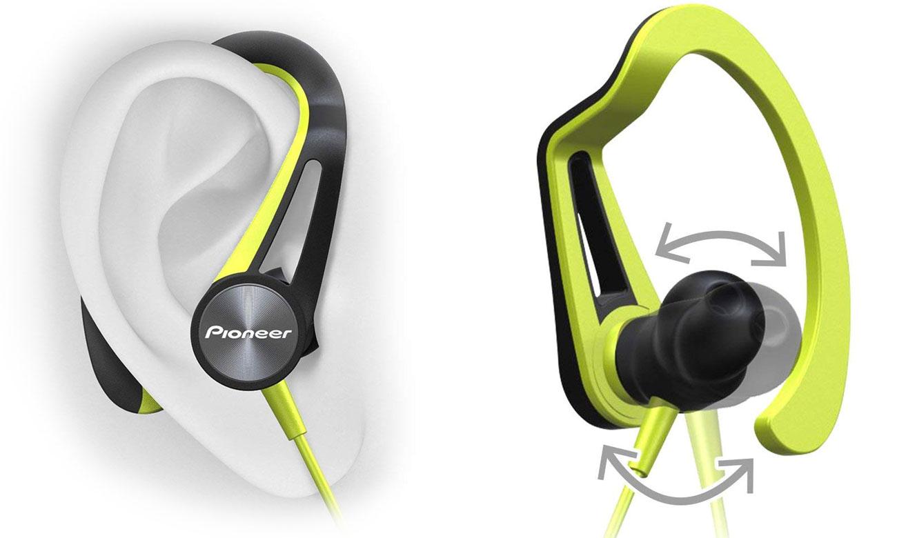 Słuchawki dokanłowe dla biegaczy Pioneer SE-E7BT