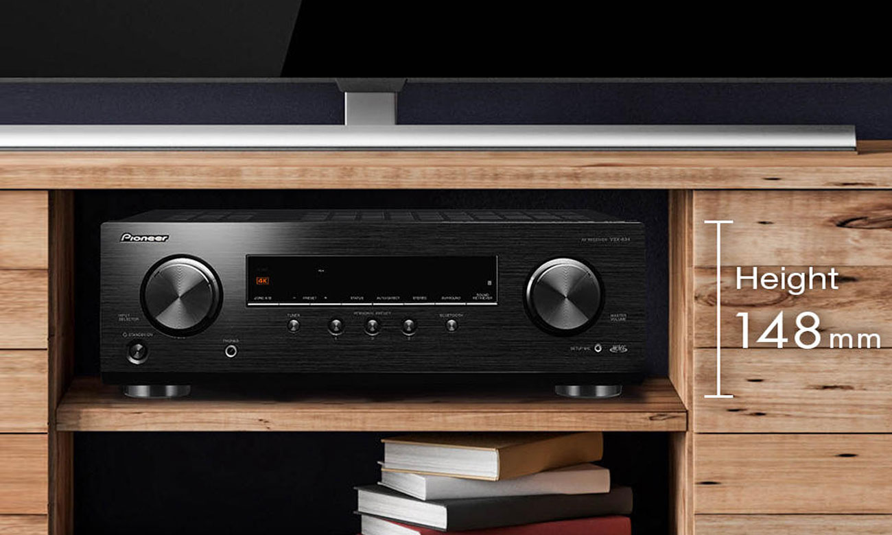 Łącznośc Bluetooth i radio DAB w amplitunerze Pioneer VSX-534D
