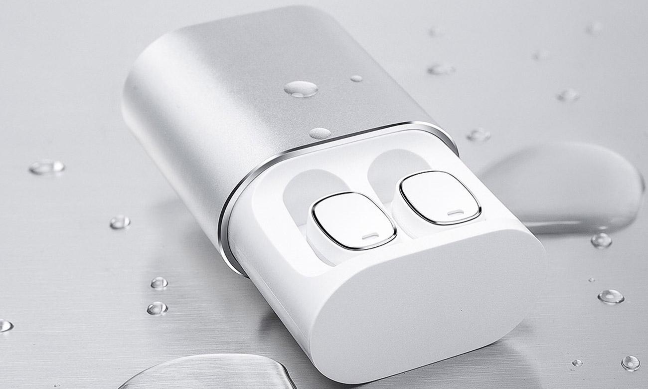 Słuchawki bezprzewodowe z etui ładującym QCY T1 Pro TWS