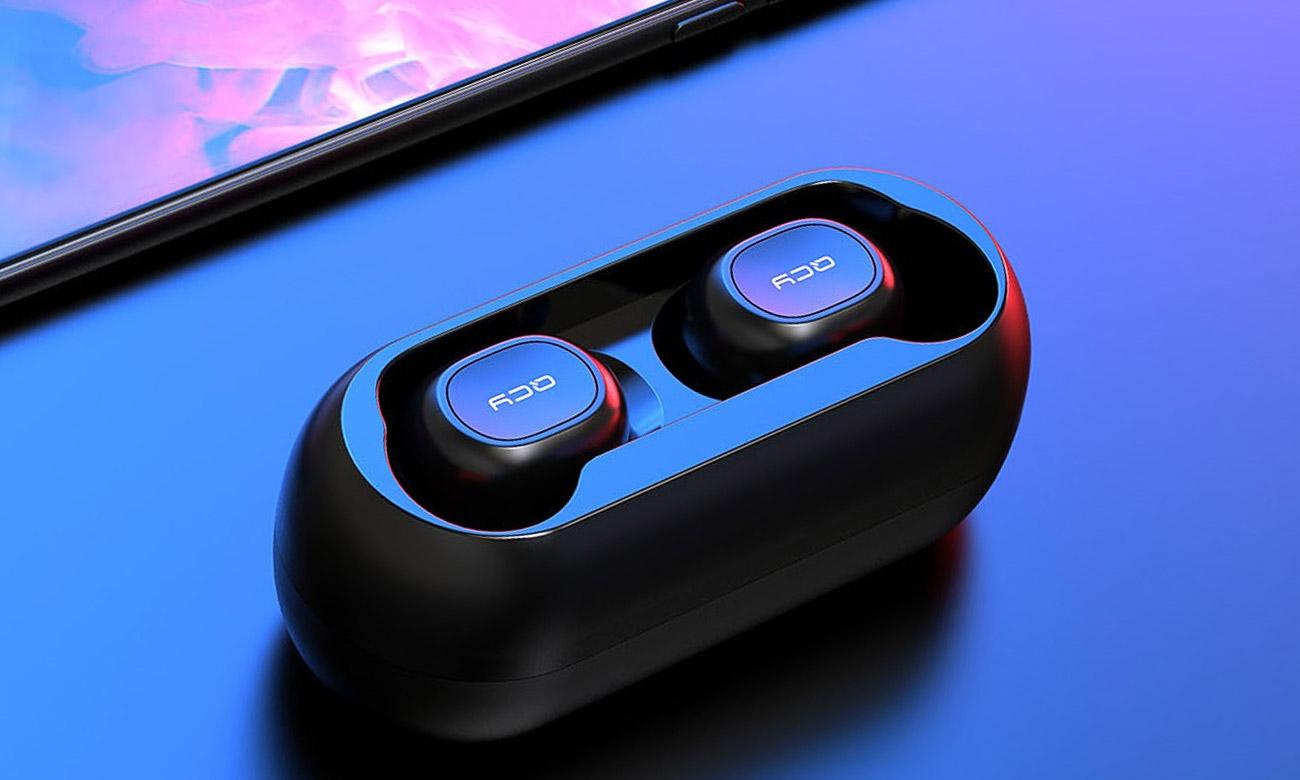 Słuchawki bezprzewodowe z etui ładującym QCY T1 TWS