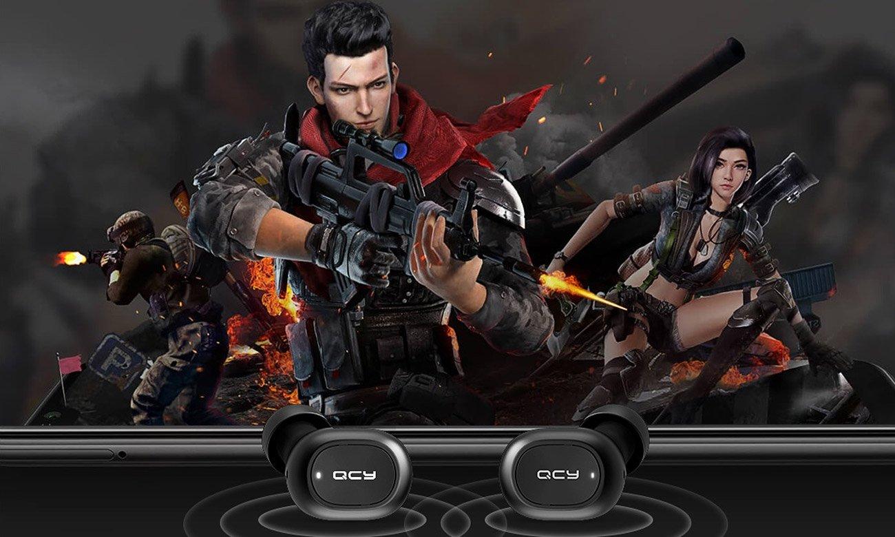 Słuchawki Bluetooth z mikrofonem QCY T2C TWS