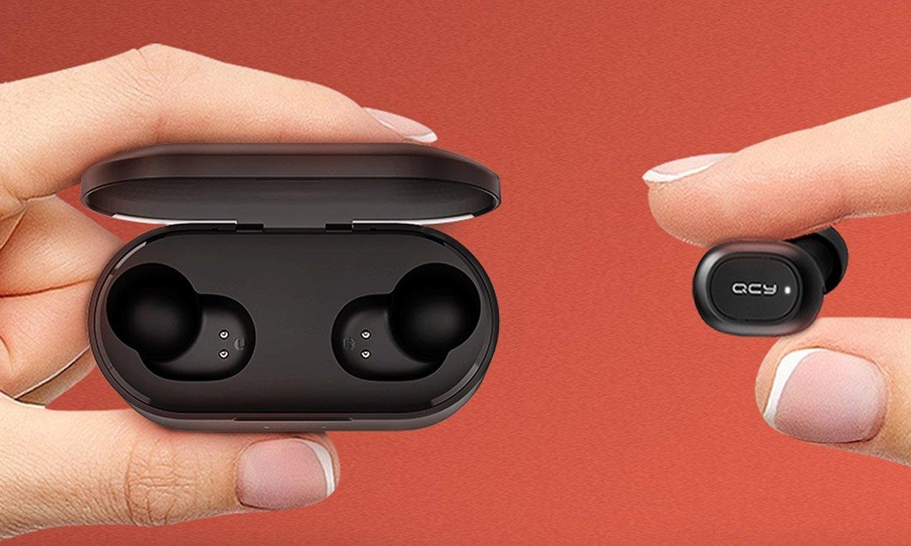 Dokanałowe słuchawki Bluetooth QCY T2C TWS