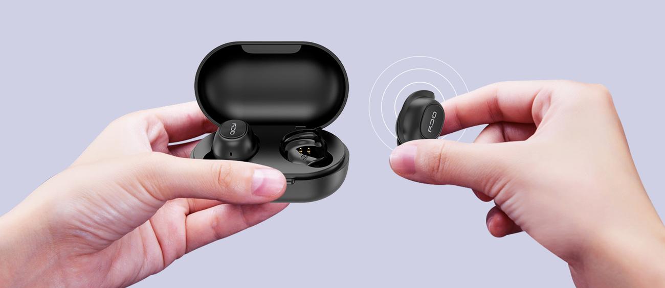 Słuchawki TrueWireless QCY T9S TWS