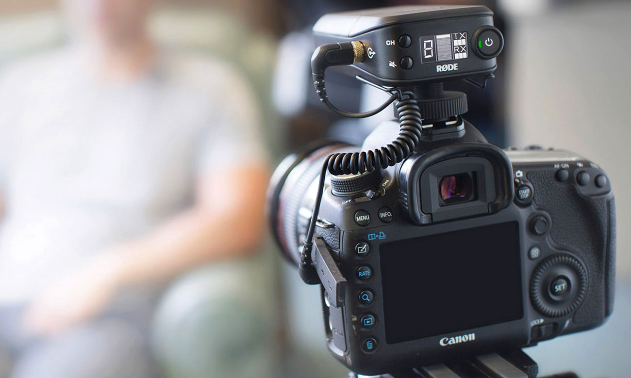 Bezprzewodowy system mikrofonowy Rode Link FilmMaker Kit