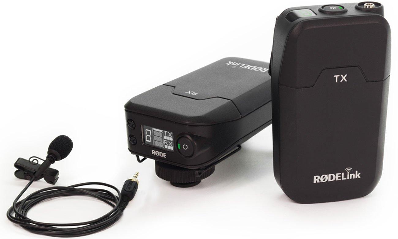 Mikrofon dla filmowca, youtubera, vlogera Rode Link FilmMaker Kit