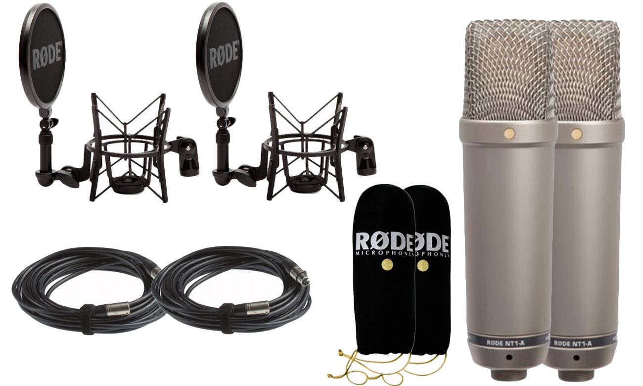Akcesoria do zestawu mikrofonów Rode NT1-A Pair