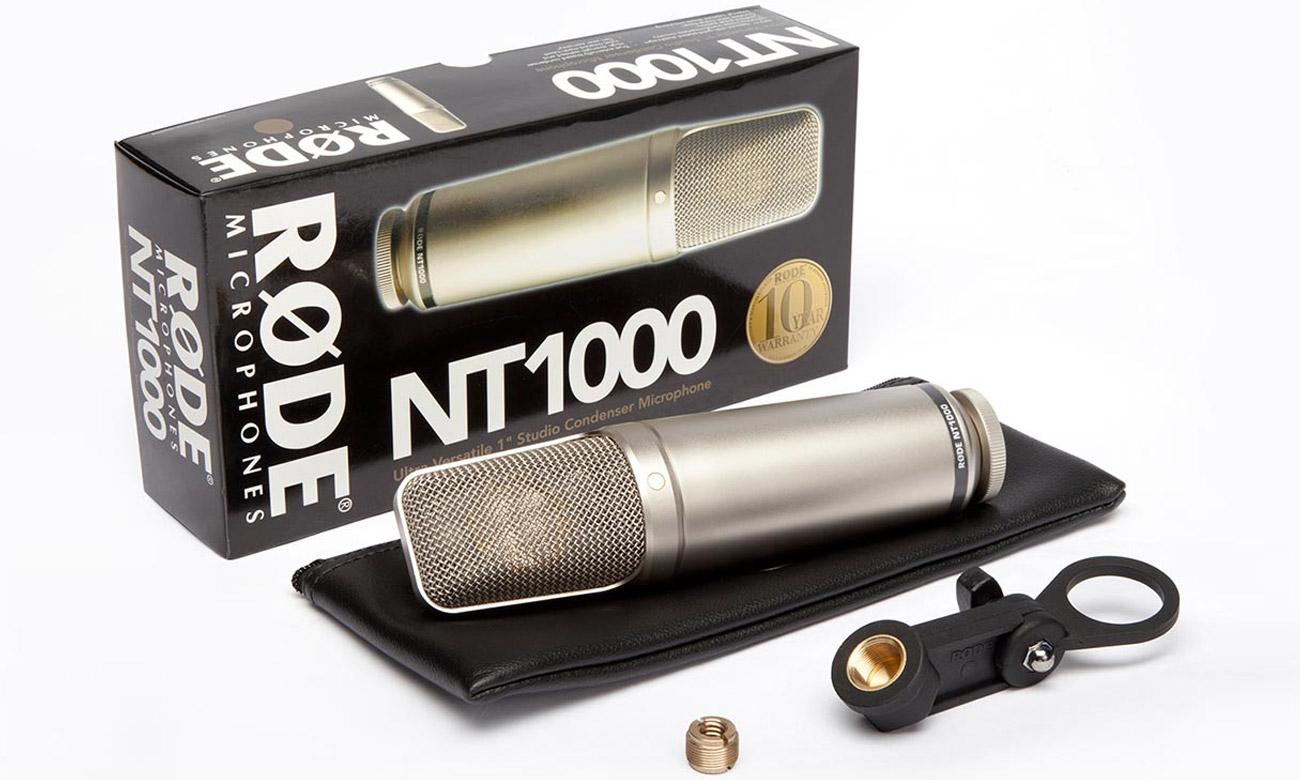 Mikrofon Rode NT1000 do domowego studia nagraniowego