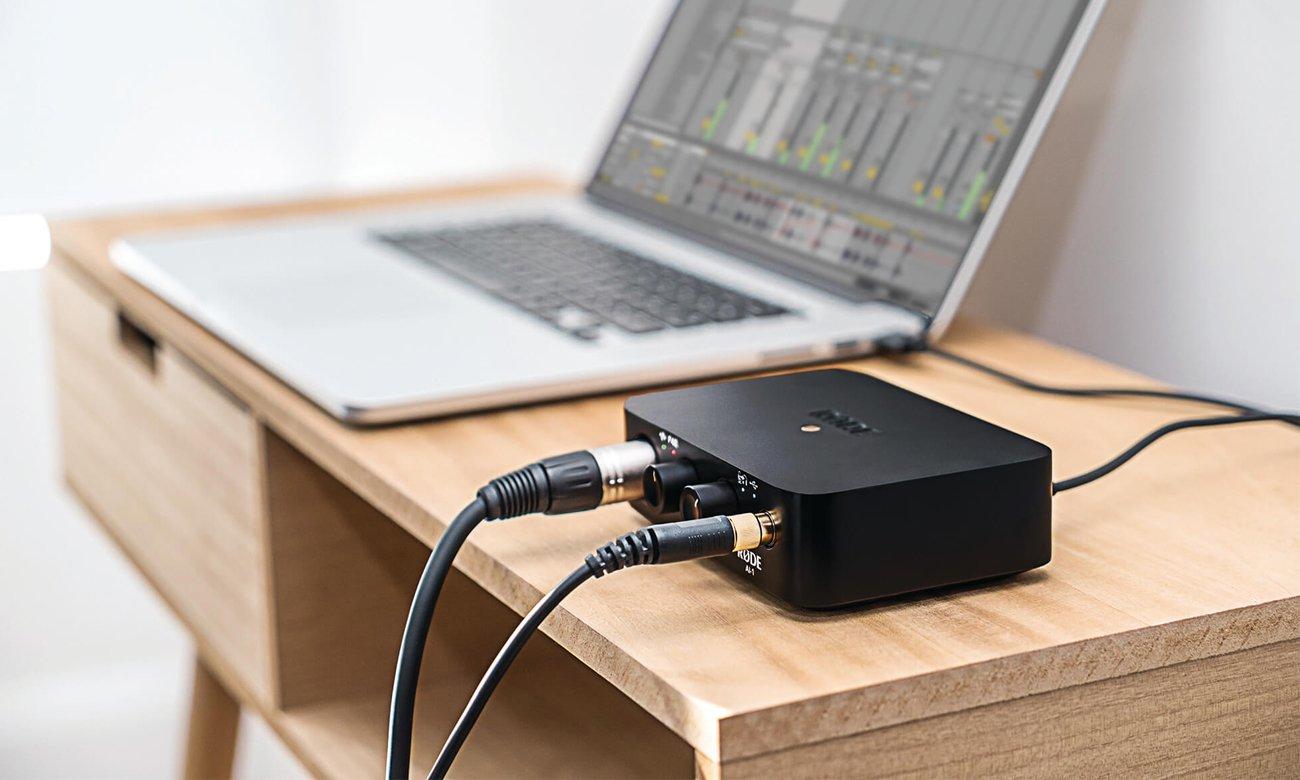 Podłączenie interfejsu audio Rode Ai1