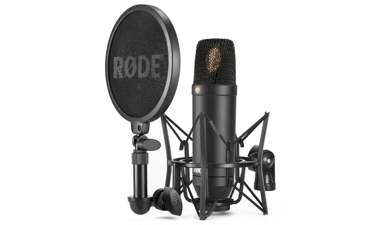 Mikrofon studyjny do nagrywania wokali Rode NT1 KIT