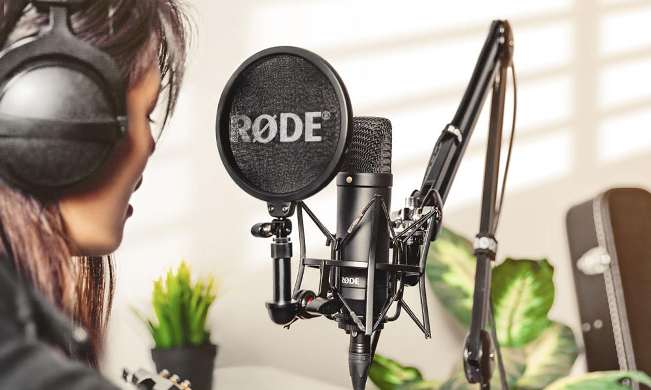 Mikrofon pojemnościowy Rode NT1 KIT 698813003044