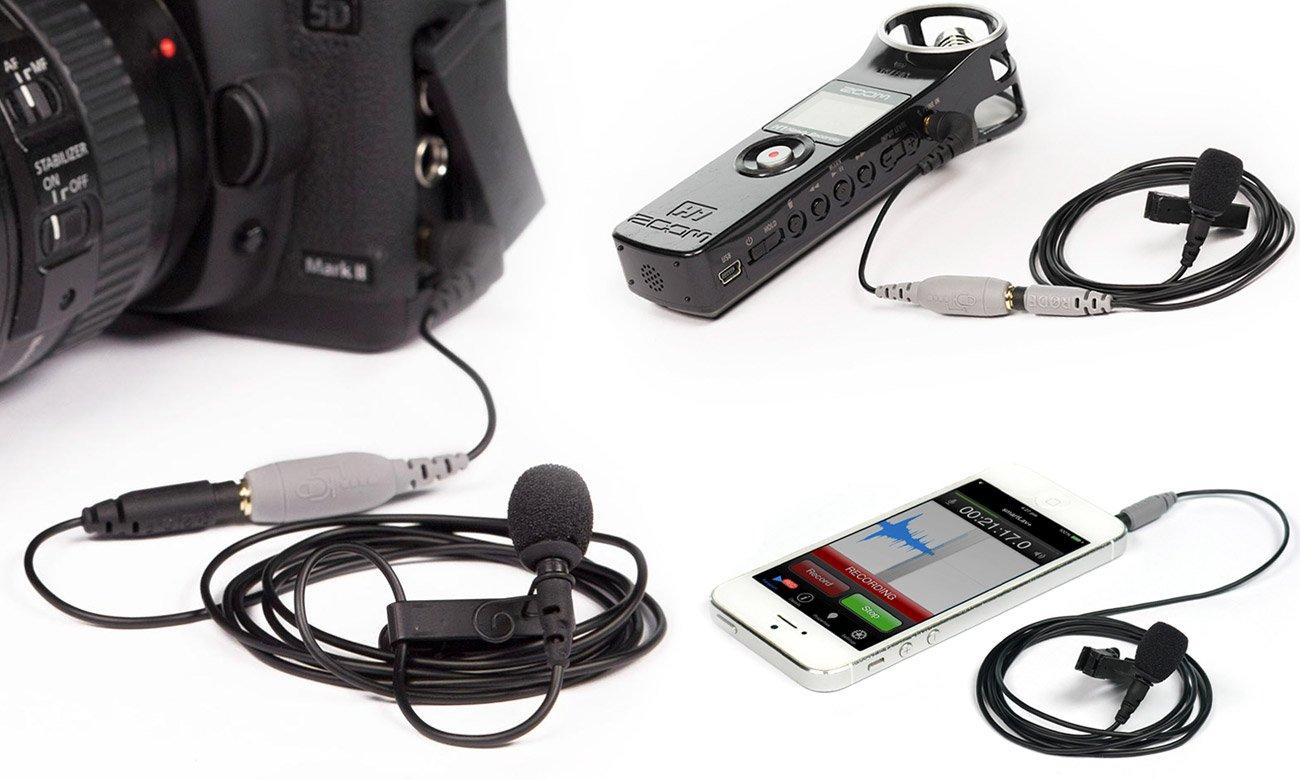 Mikrofon dookólny do telefonu / dyktafonu Rode SmartLav+