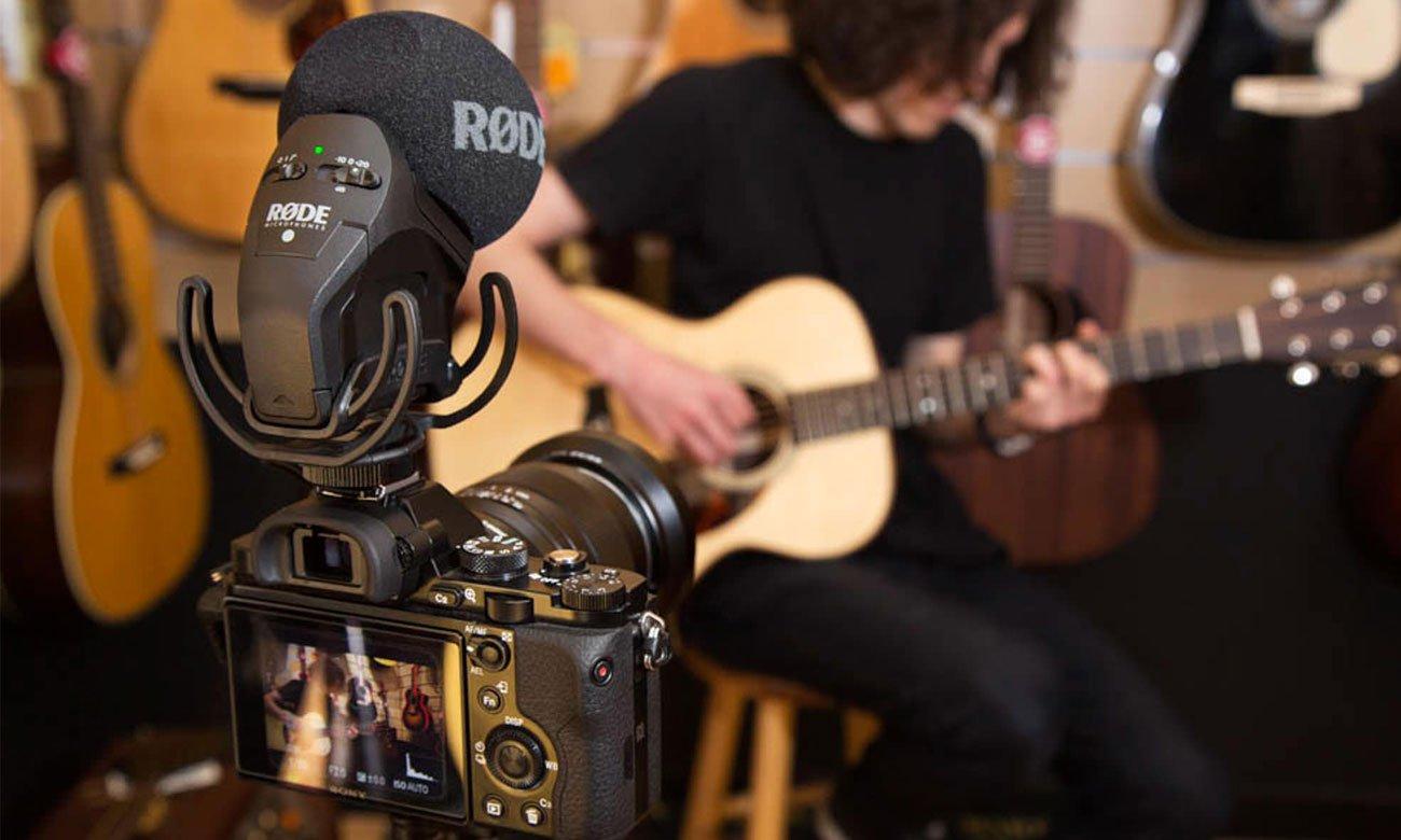 Budowa i regulacja mikrofonu Rode Stereo VideoMic Pro Rycote
