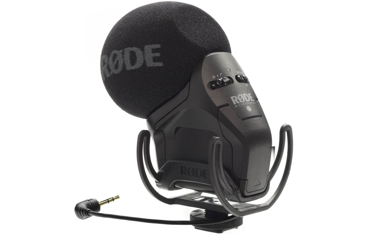 Mikrofon dla kamerzystów Rode Stereo VideoMic Pro Rycote