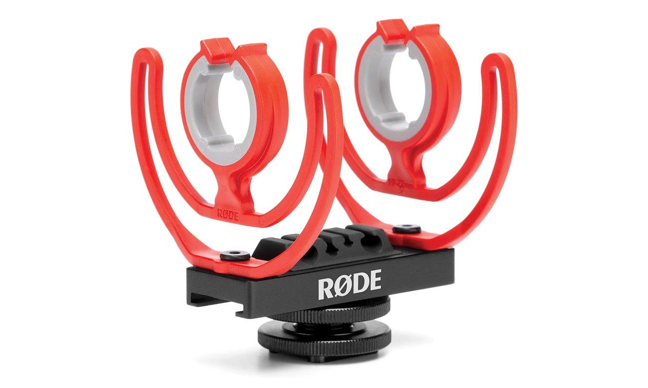 System antywibracyjny Rycote® Lyre® w Rode VideoMic NTG
