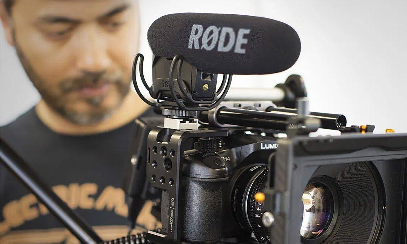 Mikrofon kamerowy, kierunkowy Rode VideoMic Pro Rycote