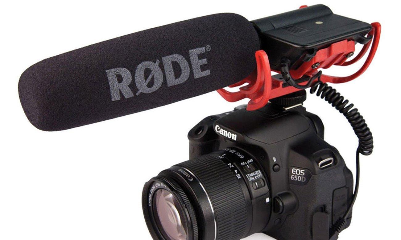 Mikrofon kamerowy, kierunkowy Rode VideoMic Rycote