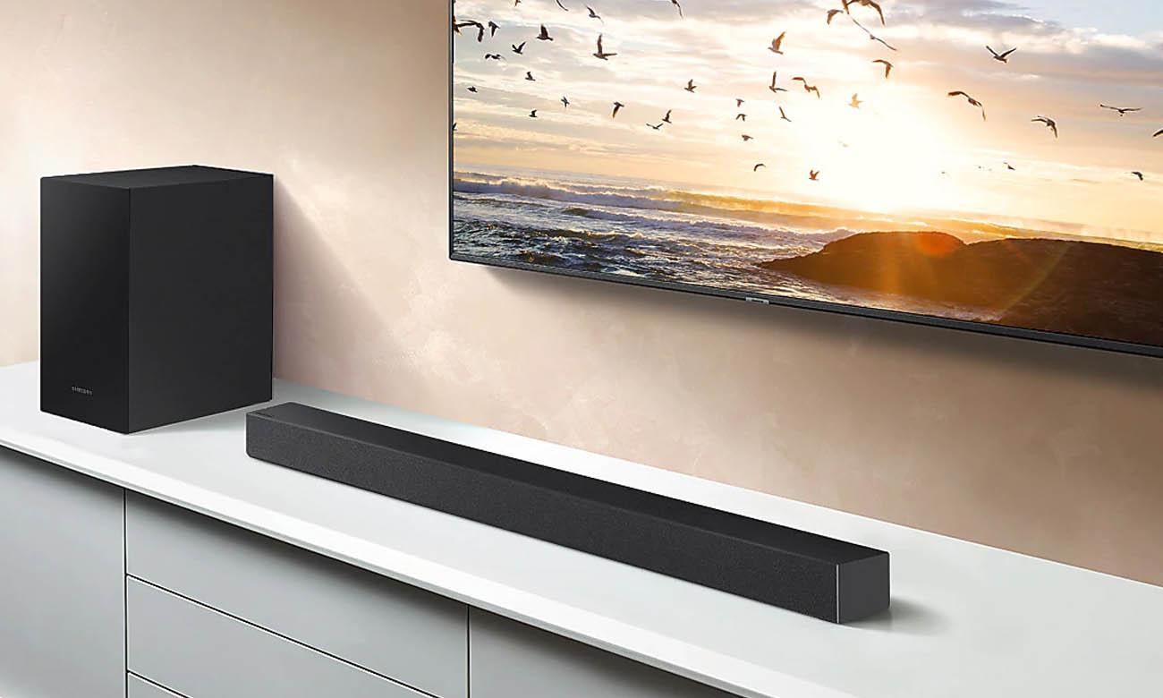 Soundbar Samsung HW-T450 z bezprzewodowym subwooferem