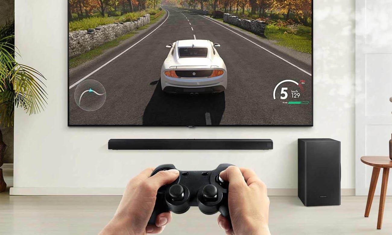 Samsung HW-T550 - soundbar dla graczy