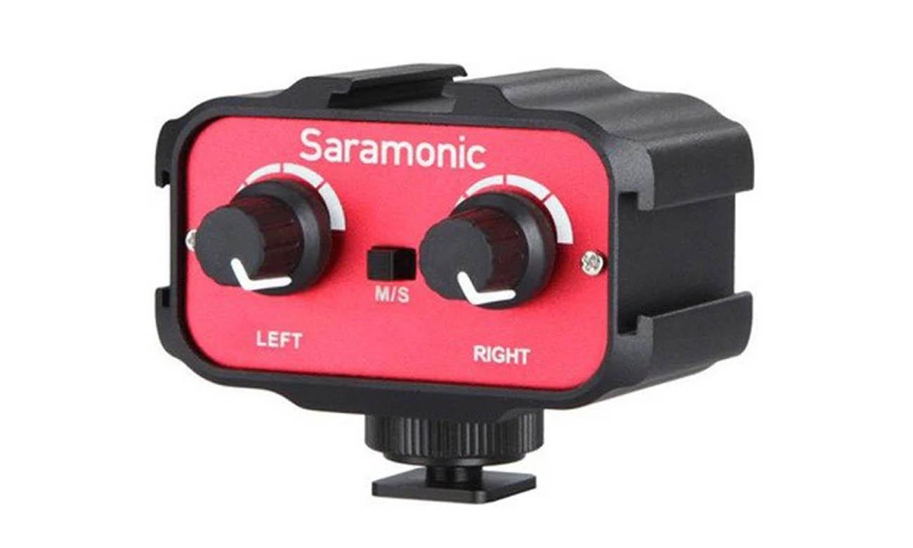 Dwukanałowy adapter audio Saramonic SR-AX100