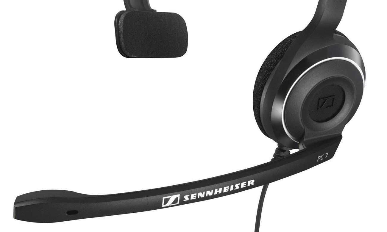 Funkcja wyciszania szumów w słuchawkach Sennheiser PC7 USB