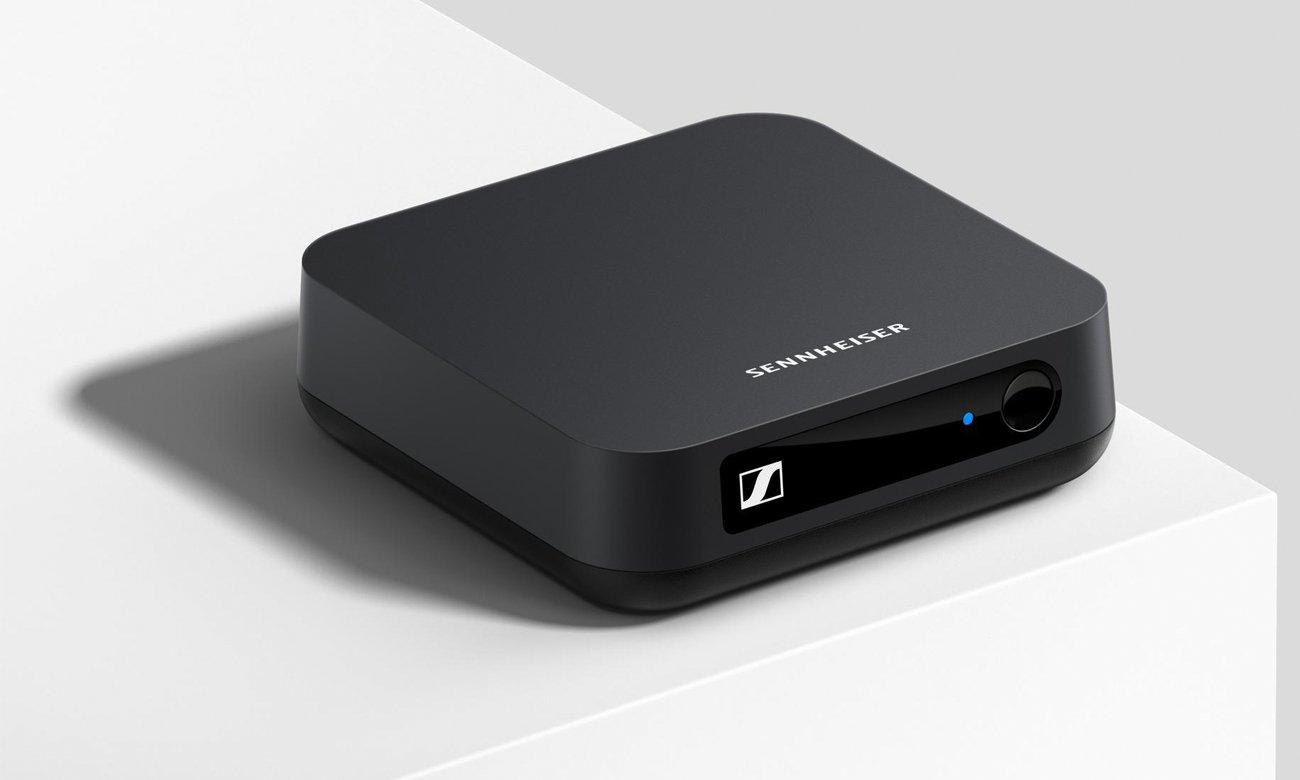 Bezprzewodowy nadajnik Sennheiser BT T100 z połączeniem Bluetooth 4.2