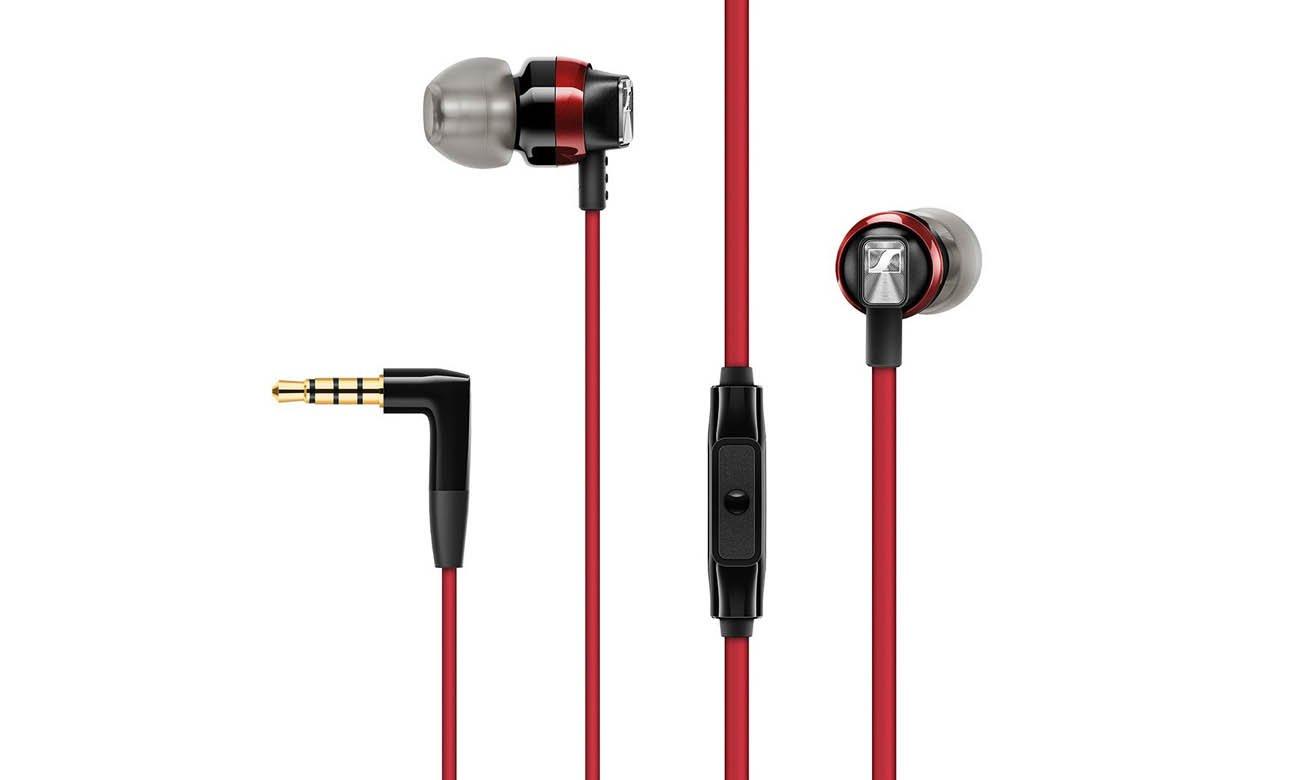 Słuchawki dokanałowe Sennheiser CX 300S czerwone