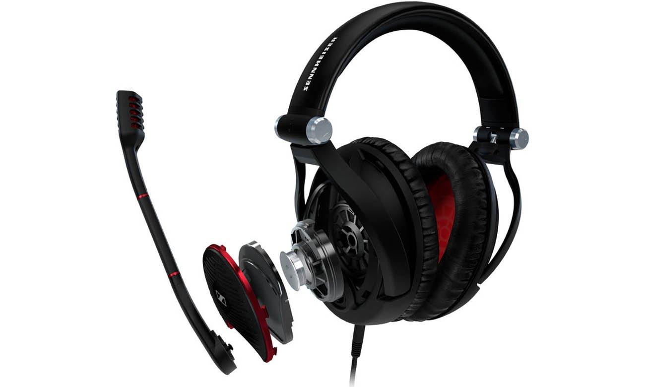 Precyzyjne brzmienie słuchawek G4ME-ZERO White