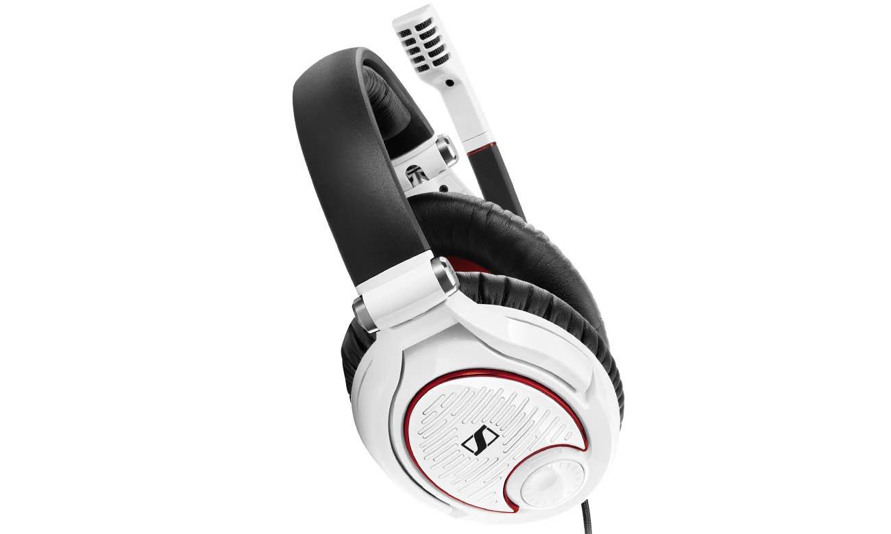 Intuicyjne sterowanie w słuchawkach Sennheiser G4ME™ ZERO